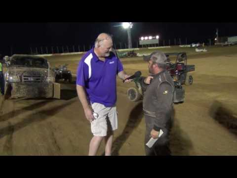 Trail-Way Speedway 358 Sprint Car Hardcharger 8-19-16