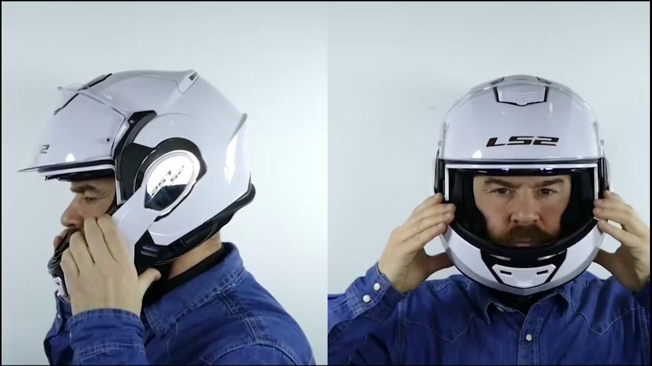 Ls2 Ff399 Valiant Single Mono Flip Front Motorcycle Helmet
