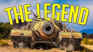 THE LEGEND • T95 is BOSS ► World of Tanks T95 Gameplay