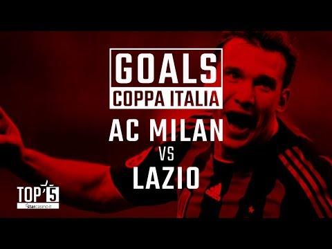 Our Top 5 Coppa Italia goals in AC Milan v Lazio