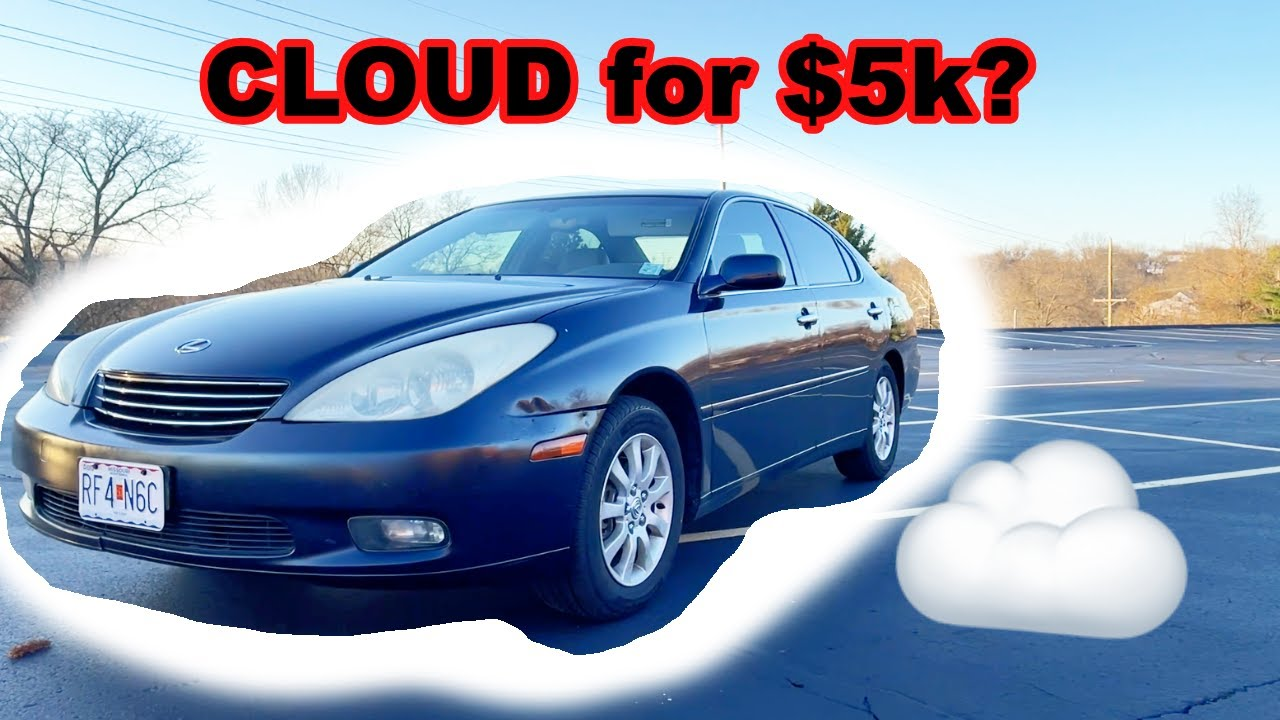 A Reliable CLOUD You Can Get For $5k or Less | 2003 Lexus ES300 Review