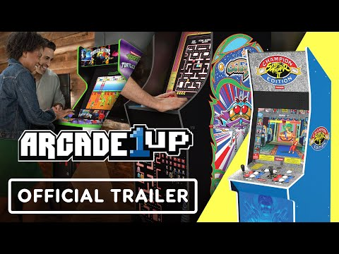 Turtles in Time & Street Fighter 2 - Official Arcade1up Cabinets Reveal Trailer   Summer of Gaming from GameTrailers