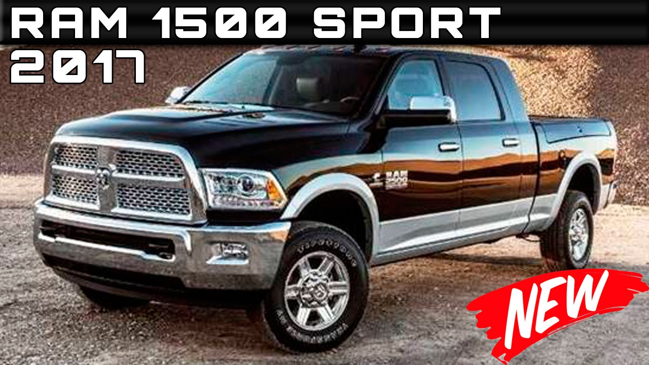 2017 Ram 1500 Sport Review Rendered Price Specs Release Date