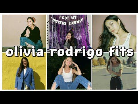 olivia rodrigo's outfits 🚗 | riri and gab