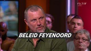 John de Wolf wordt niet vrolijk van beleid Feyenoord