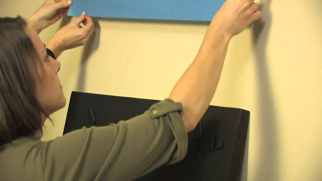 How to Hang a Mirror | Pottery Barn - YouTube