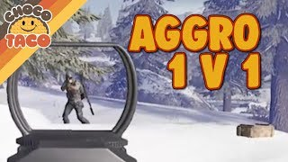 chocoTaco Loves Aggro Players - PUBG Gameplay