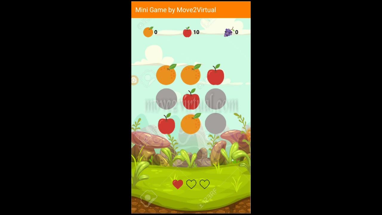 Mini Game Appybuilder, Kodular FREE AIA | Move 2 Virtual