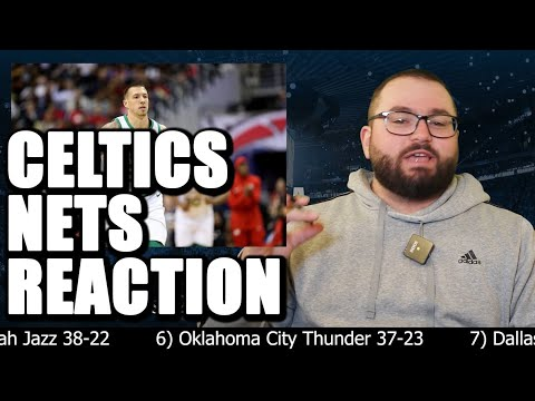 Nets Celtics Reaction Analysis Highlights - Brooklyn Nets Basketball Boston Celtics NBA TNT