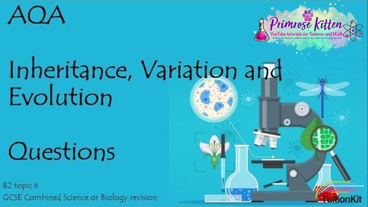 INHERITANCE, VARIATION AND EVOLUTION. AQA B2-Topic 6. 9-1 GCSE ...
