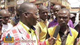 How many Continents are in Africa  Teacher Mpamire On the Street Funny African Videos