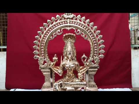 Panchaloha Idol - Goddess Sakthi - Mariamman - Navachola ASS's Arts