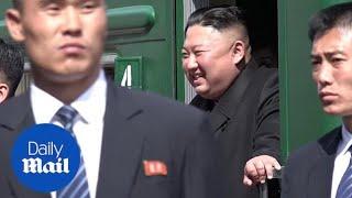 Kim Jong Un departs Russia after summit with Vladimir Putin