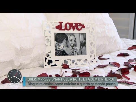 Blogueira dá dicas de decoração especial para o Dia dos Namorados   Primeiro Impacto (12/06/18)