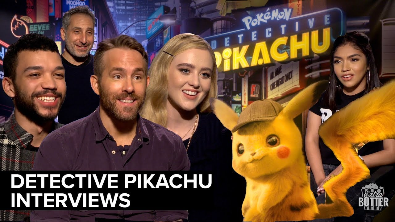 Pokemon Detective Pikachu Interviews Ryan Reynolds Justice