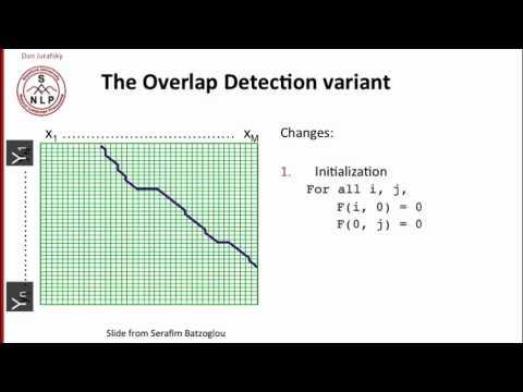 Nlp - 1.10 - Minimum Edit Distance in Computational Biology