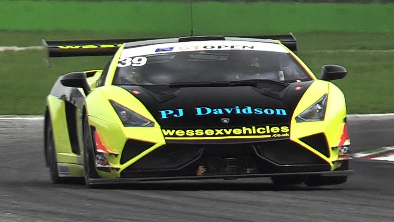 Lamborghini Gallardo Extenso Gt3 Great Sound In Action On Track