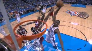 Game 1 Thunder vs. Heat The Finals 2012 NBA Playoffs Highlights