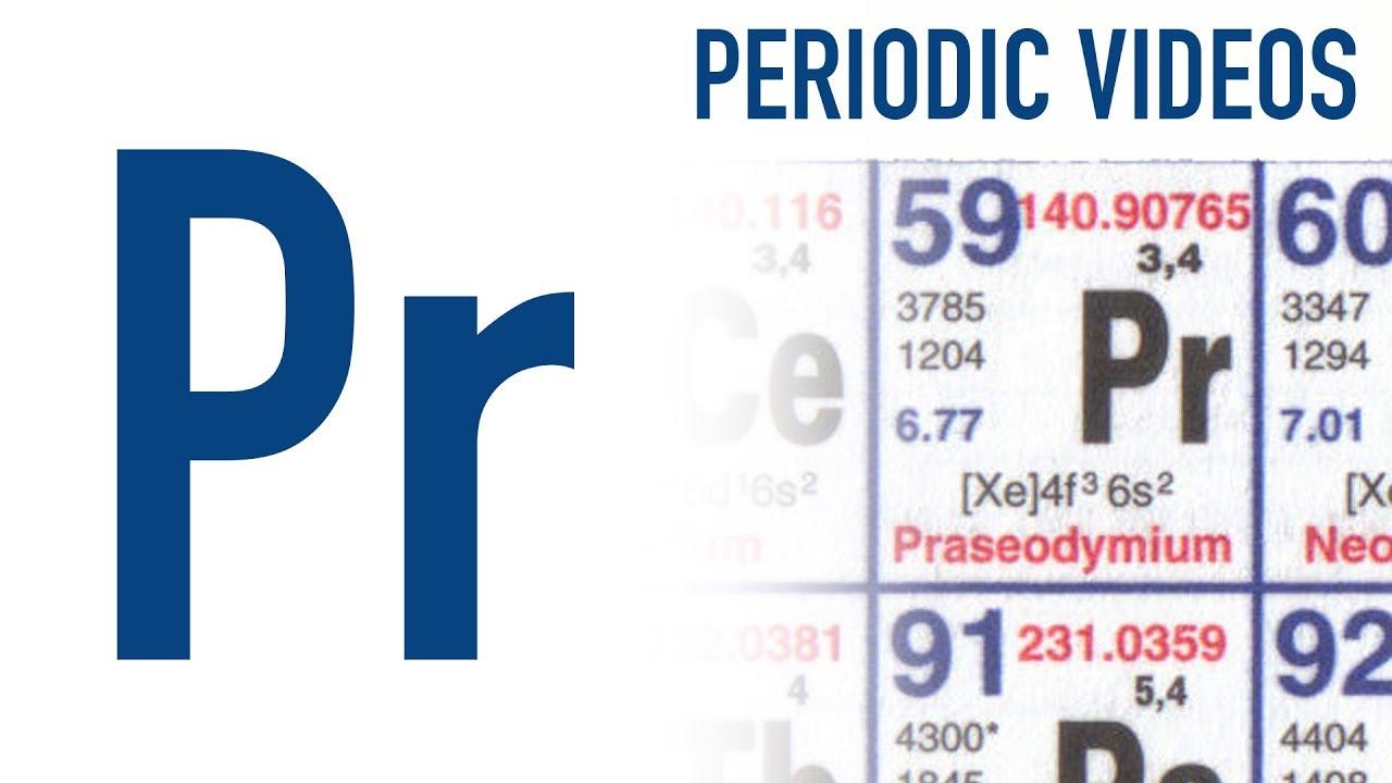 Praseodymium periodic table of videos youtube praseodymium periodic table of videos urtaz Image collections