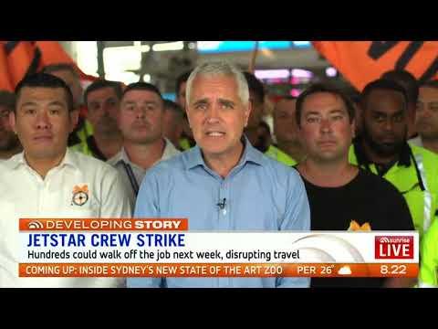Jetstar Crew Strike