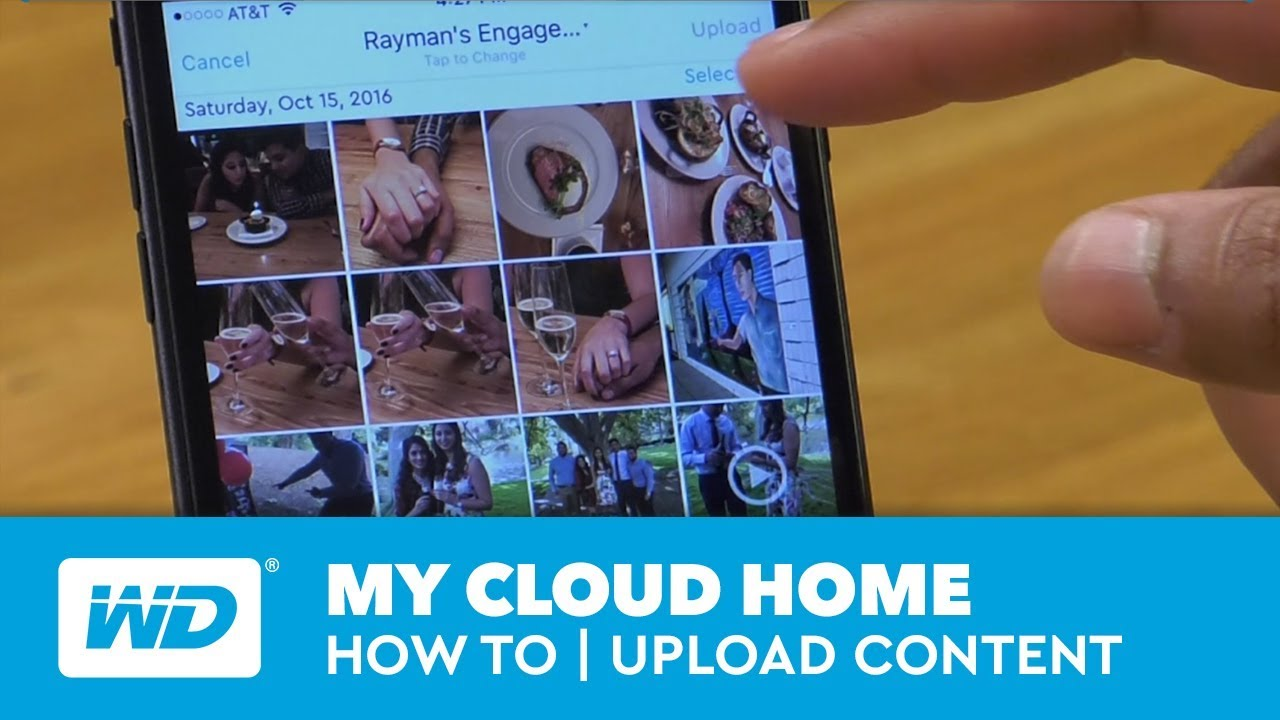 My Cloud Home - How-to | Upload Content From Mobile