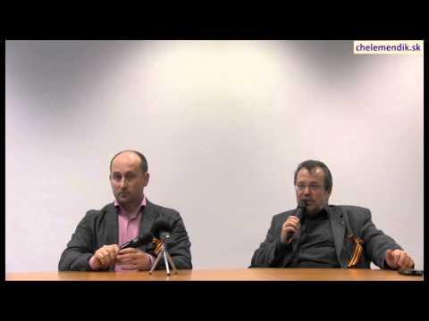 Beseda s N. Starikovym a S. Chelemendikom 10.4.2014 - Odpovede na otázky