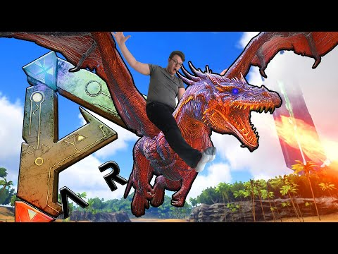 The Dragon - Boss  Fight - With Daz Games & BitMoreDave ARK: Survival Evolved