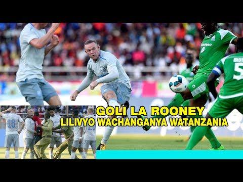 GOLI LA ROONEY na Everton lilivyo wachanganya WATANZANIA walipocheza na goromahiya