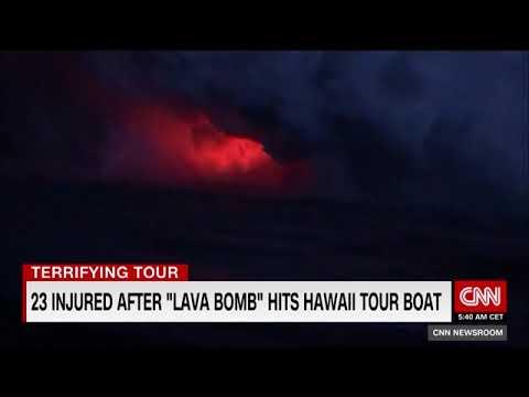 lava-bomb-hits-hawaii-tour-boat,-injures-23