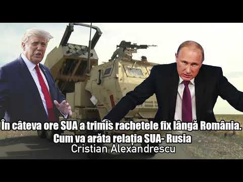 In Cateva Ore SUA A Trimis Rachetele Fix Langă Romania *Cum Va Arata Relatia SUA - Rusia