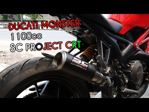 Ducati Monster 1100 SC Project Exhaust | Exhaust Sound