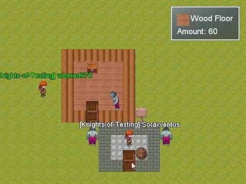 2d Minecraft In RMXP - Multiplayer