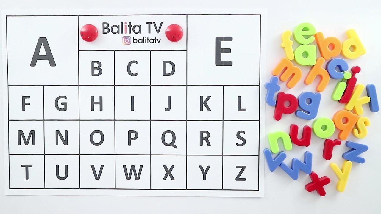 Belajar Mengenal Huruf Abjad ABC Untuk Anak Kecil Dengan Mudah by ...