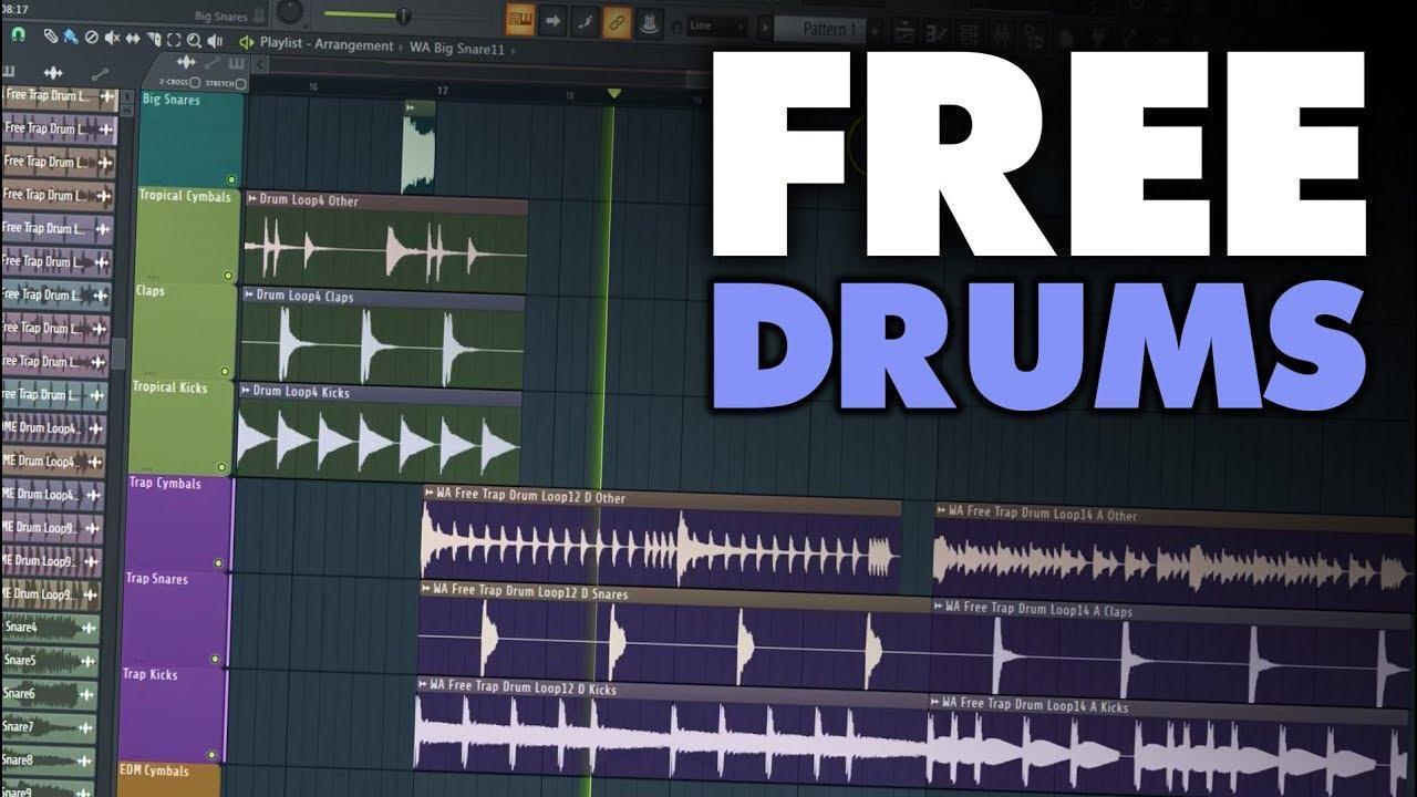 free drum samples for fl studio