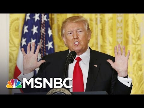 Relationship Between President Trump's Tweet And White House Tensions | Morning Joe | MSNBC