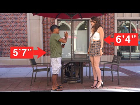 Download Would You Date a Tall Girl?   Social Experiment
