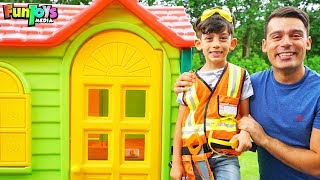 Jason Pretend Play Adventures with Playhouse for Kids
