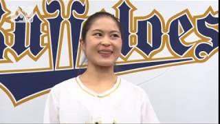 4/3(火)、女子フィギュアスケート日本代表 宮原知子選手による始球式...