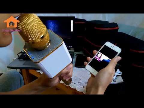 Hướng Dẫn Sử Dụng Micro Bluetooth 3 Trong 1 Q7 / X6 / YS10 / YS11 Chi Tiết