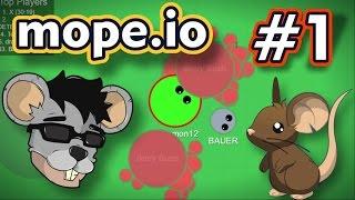 Mope.io - O RATO QUE VIROU COELHO - Gameplay #1