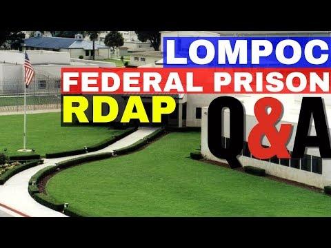 Lompoc Federal Prison Camp- RDAP Q&A