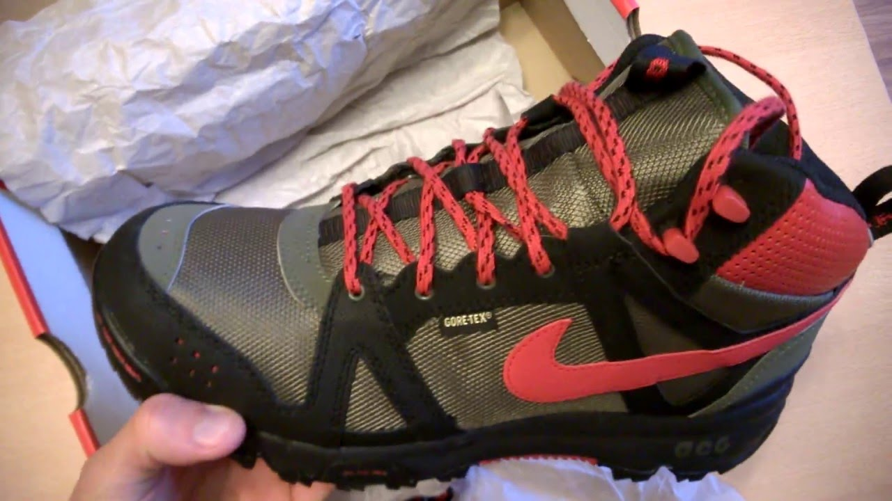 check out c6d27 d1a2c discount nike acg rongbuk gtx f16e9 ff456  where to buy unboxing butów  shoes nike rongbuk mid gtx gore tex 365657 260 8a14c 76993