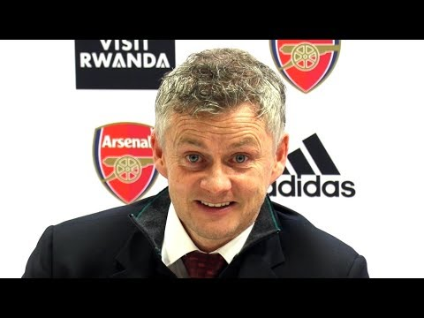 Arsenal 2-0 Man Utd - Ole Gunnar Solskaer FULL Post Match Press Conference - Premier League