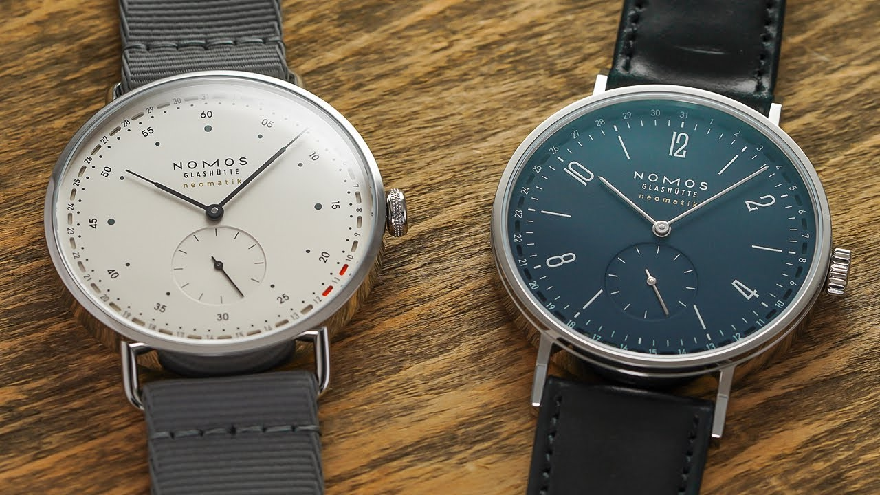 Two Striking New NOMOS Watches - Tangente Neomatik 41 Update & Metro Neomatik 41 Update