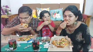 PIZZA CHALLENGE || Funny Pizza Challenge With 3Years Old 🤣