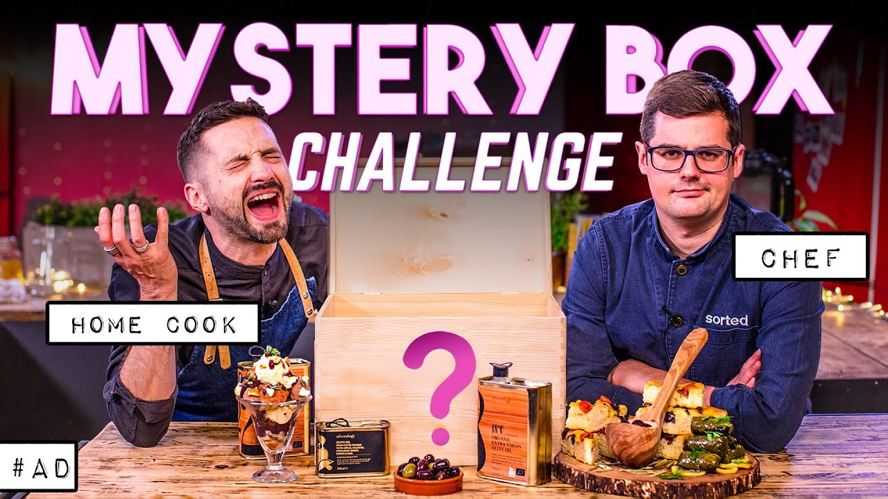 BEAT THE CHEF: MYSTERY BOX COOKING CHALLENGE | Vol. 10 SORTEDfood
