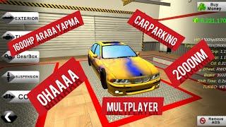 Car parking multplayer1600hp araba nasıl yapılır