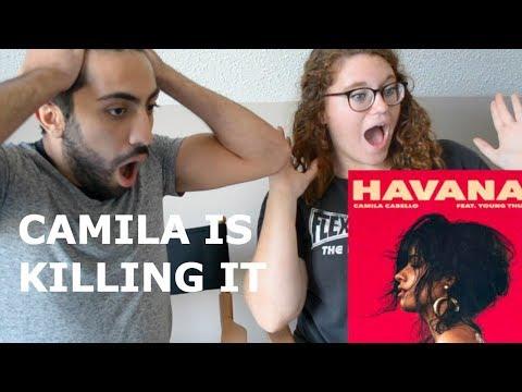 CAMILA CABELLO HAVANA FT YOUNG THUG (REACTION)