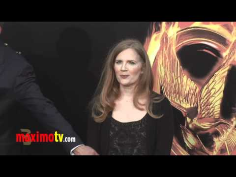 "Suzanne Collins at ""The Hunger Games"" World Premiere Arrivals"