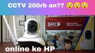 Review CCTV wireless murah dan tutorial setting IP Cam SPC